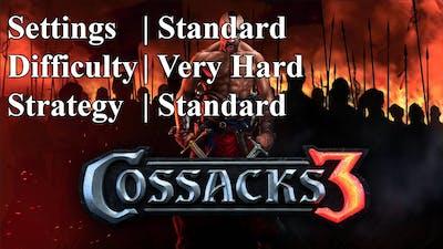 Cossacks 3 | Very Hard difficulty | Standard Strat