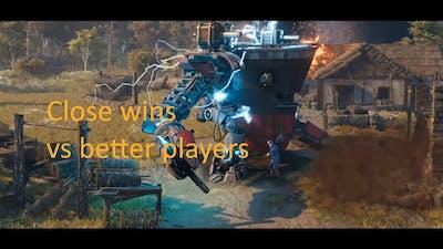 Close wins vs better players! Iron Harvest!