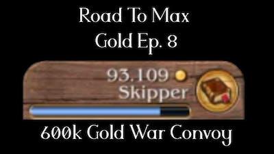 [Timelapse] 600K Gold War Convoy -  Road to Max Gold - Port Royale 3 Ep8