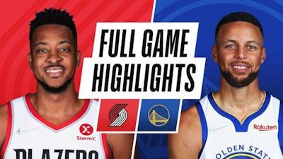 Golden State Warriors vs. Portland Trail Blazers Full Game Highlight | NBA Preseason 2021-22