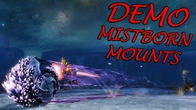 Guild Wars 2 - Mistborn Mounts Demo