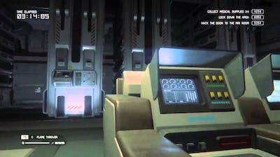 Alien Isolation Survivor Mode Run on DLC