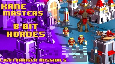 8-Bit Hordes Lightbringer Campaign Mission 5 - Reunification