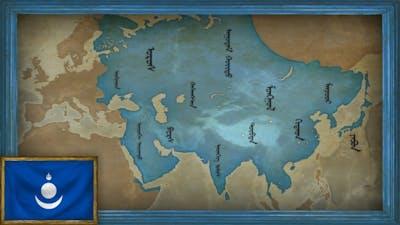 EU4 - Timelapse - The Mongol Empire