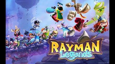 rayman legends gameplay level 2 [wiiu]