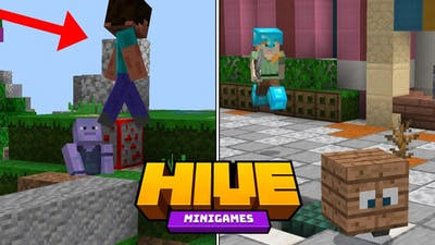 Hive Trapping, In Every Game (Skywars, Treasure Wars)
