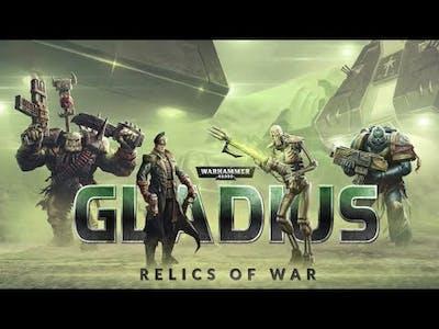 Let's take a look at:  Warhammer 40,000: Gladius - Relics of War