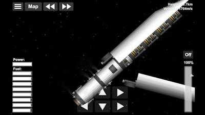 Got some Chunky bois into orbit | SFS