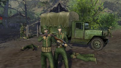 Men of War Vietnam - USA campaign walkthrough - Mission 3 - On The Trail of Uncle Ho 3/4