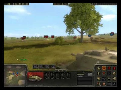 A quick battle in Theatre of War 2: Kursk 1943