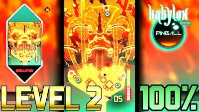 Babylon Pinball 2055 - Level 2 100% Completion (PC)