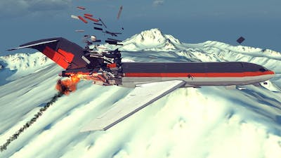 Airplane Crashes, Shootdowns, Midair Collisions and More #17 | Besiege