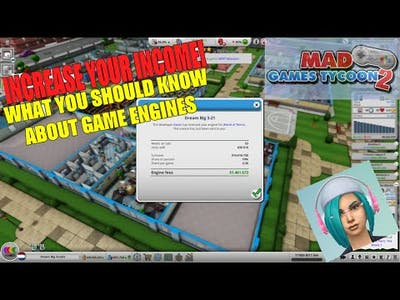 Increase Your Studio's Income With Game Engines!   Mad Games Tycoon 2 Tips & Gameplay EP7
