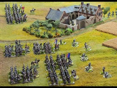 Waterloo March of Eagles Part 2 - The gameplay