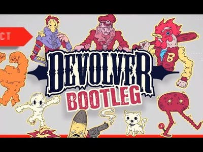 (Casey&Josh) WE ACTUALLY BEAT A GAME! : Devolver Bootleg Games #3