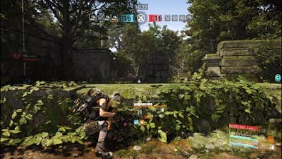 Division 2 DAT conflict warhead to the forehead edition