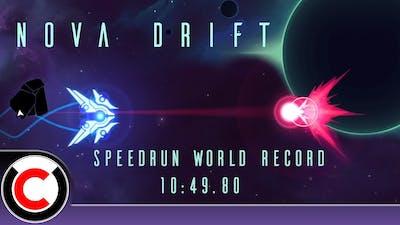 Nova Drift Speedrun: 10:49.80 (Former WR) - Ultra C Streams