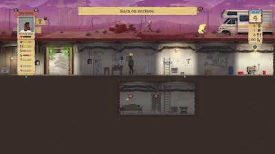Sheltered]AFTER THE BOMB HIT [FIRST LOOK AT THE GAME] #1
