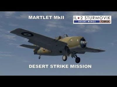 IL2 CLIFFS OF DOVER DESERT WINGS MISSION 4K UHD