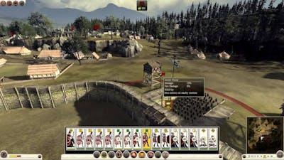Total War: Rome 2 - Caesar in Gaul Rome Campaign part 1