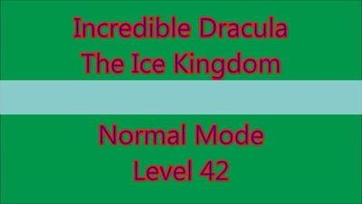 Incredible Dracula - The Ice Kingdom Level 42