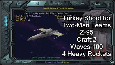 X-wing vs. TIE Fighter - Turkey Shoot for Two-Man Teams - Z-95