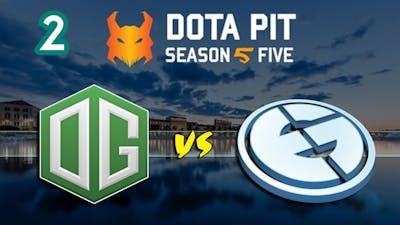OG vs Evil Genius Game 2 Highlights Winners Finals Dota Pit Season 5  Just Dota 2