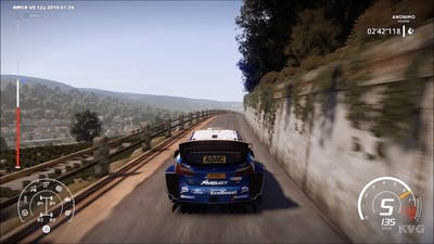WRC 8 - Moselland - Germany Gameplay (PC HD) [1080p60FPS]