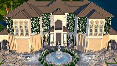 WEDDING VENUE | THE SIMS MOBILE | WEDDING BLOSSOMS TH | HOUSE TOUR | HOUSE BUILD #23