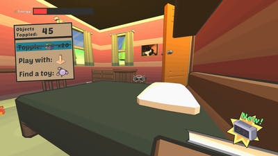 Catlateral Damage Remeowstered Gameplay (PC Game)