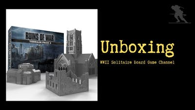 Company of Heroes: Company of Heroes – Terrain Pack 2 - Unboxing