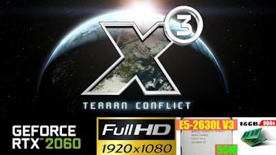 X3 - Terran Conflict War Pack | Nvidia RTX 2060 6GB | Intel Xeon E5 2630L v3 | 1080p High
