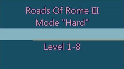 Roads Of Rome 3 Level 1-8