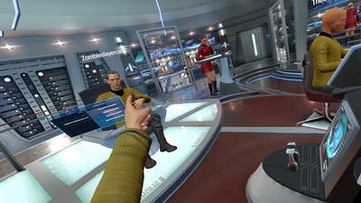 Kid Captain [Star Trek Bridge Crew]