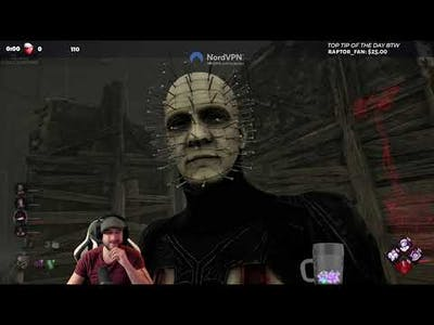 THE CENOBITE HAS AIMBOT! - Dead by Daylight! HELLRAISER CHAPTER!