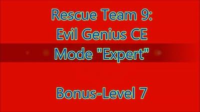 Rescue Team 9: Evil Genius CE Bonus-Level 7