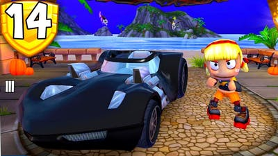 Black Twin Mill 3 And Roxie Roller Quick Race | Beach Buggy Racing 2