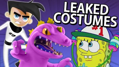 LEAKED COSTUMES IN NICKELODEON ALL-STAR BRAWL!