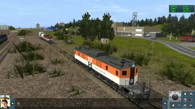 New Haven EP2 and EP3 electric engines in Trainz 2012
