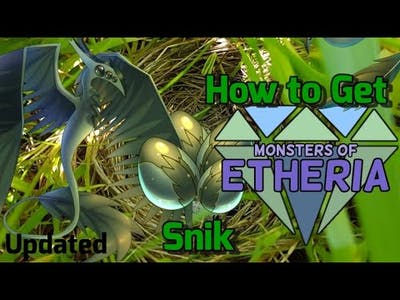 How to Get New Snik- Roblox Monsters of Etheria [UPDATED]