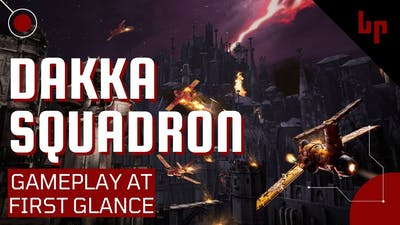 Warhammer 40,000: Dakka Squadron - Flyboyz Edition - Gameplay At First Glance - Orks and Jets!