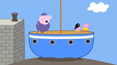 Peppa Pig Full Episodes  Sailing Boat #27