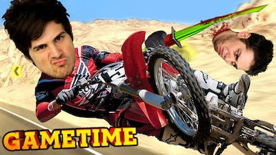 FACE SMASHING IN ROAD REDEMPTION (Gametime w/ Smosh Games)