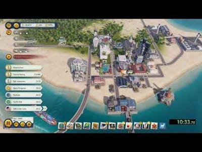 Tropico 6 - Splitter Speedrun - Easy Difficulty in 16:19
