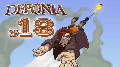 Deponia S18 - Contact with Cletus