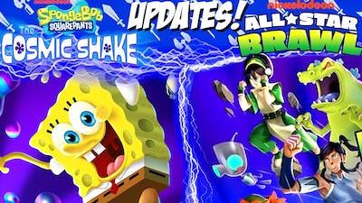 Spongebob: Cosmic Shake Is A Spiritual Successor To BFBB - Nick All-Star Brawl Leaks, DLC & More!