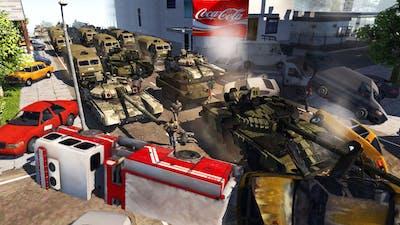 Russia Invades WASHINGTON DC?! - Men of War: Modern Warfare Mod Battle Simulator