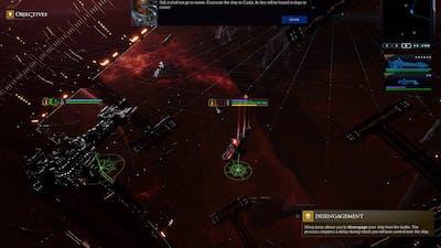 Battlefleet Gothic  Armada 2 Beta Prologue Gameplay