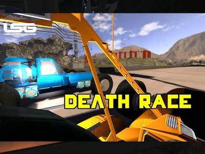Space Engineers - Death Race Car Challenge