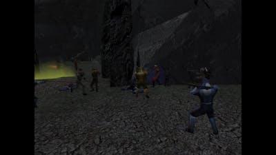 Playing star wars battlefront 2 classic (Kotor mod beta)